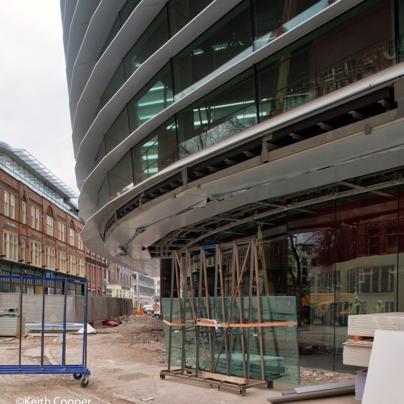 Glazing installation, Curve