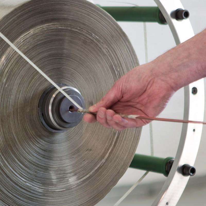 Mylar tape spool