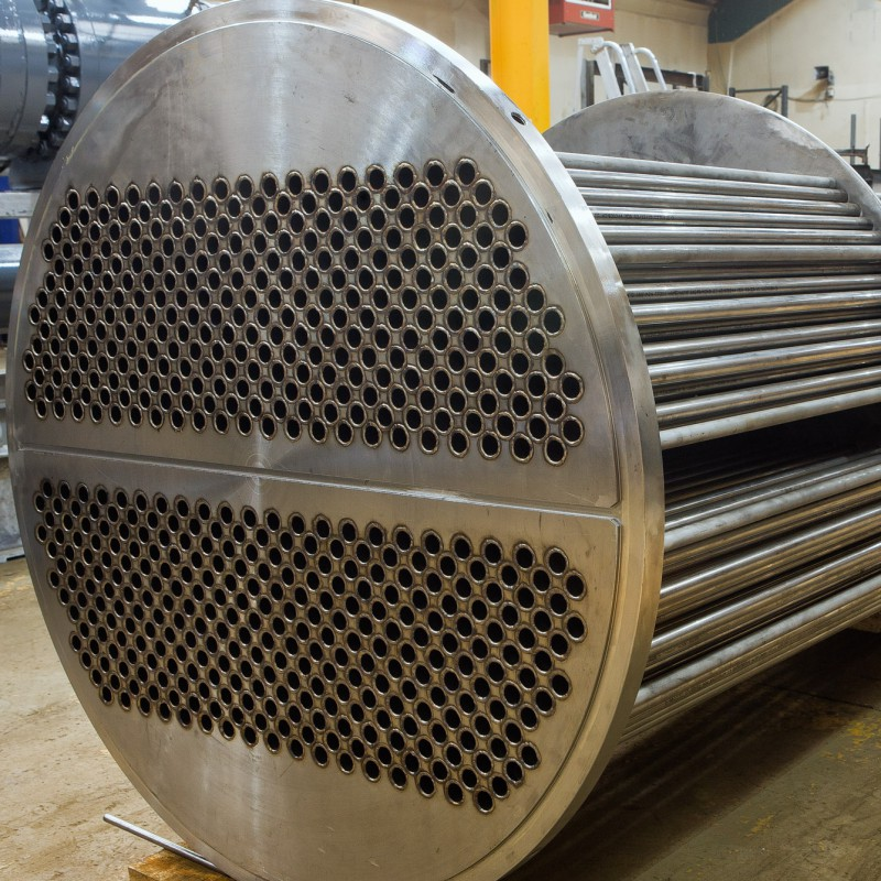 Heat exchanger pipework