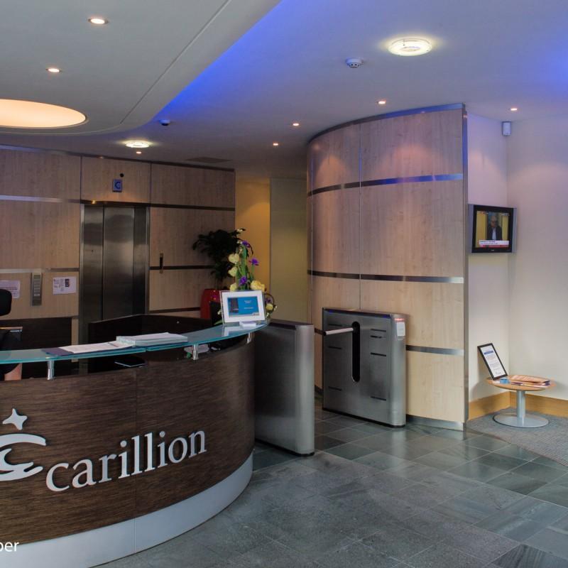 Reception at Carillion, Wolverhampton