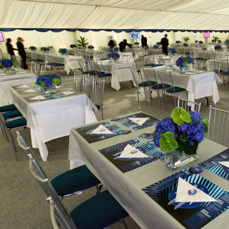 Corporate hospitality tent
