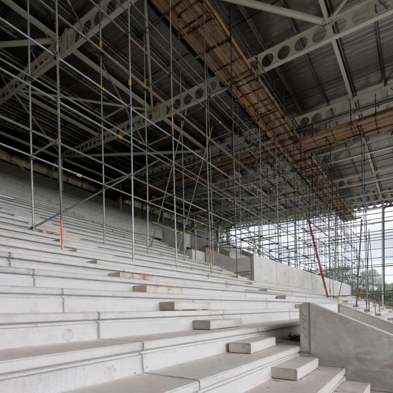 Roofwork, sports stadium