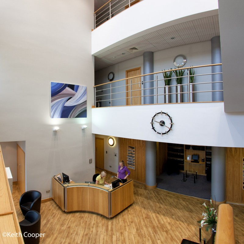 Office foyer