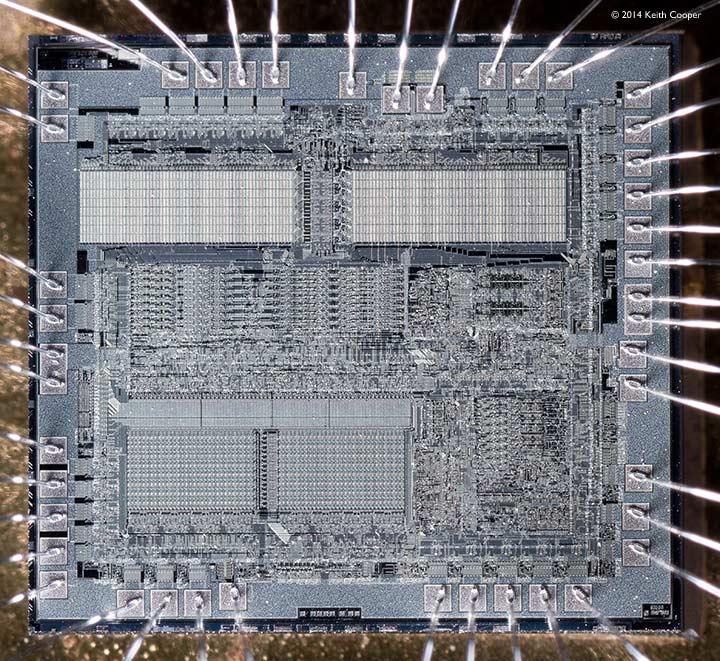 8031 microprocessor