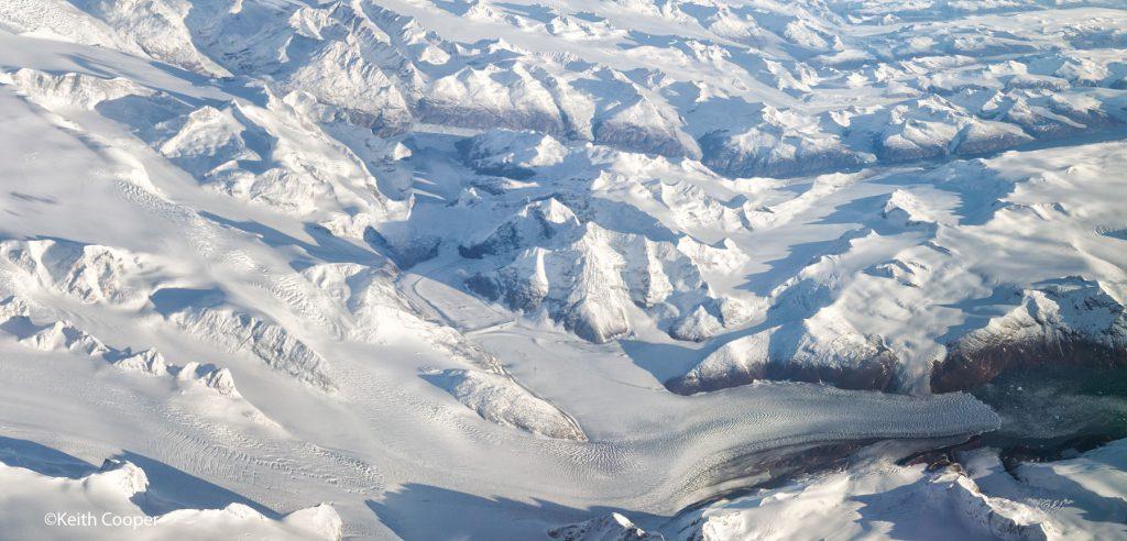 Greenland glacier
