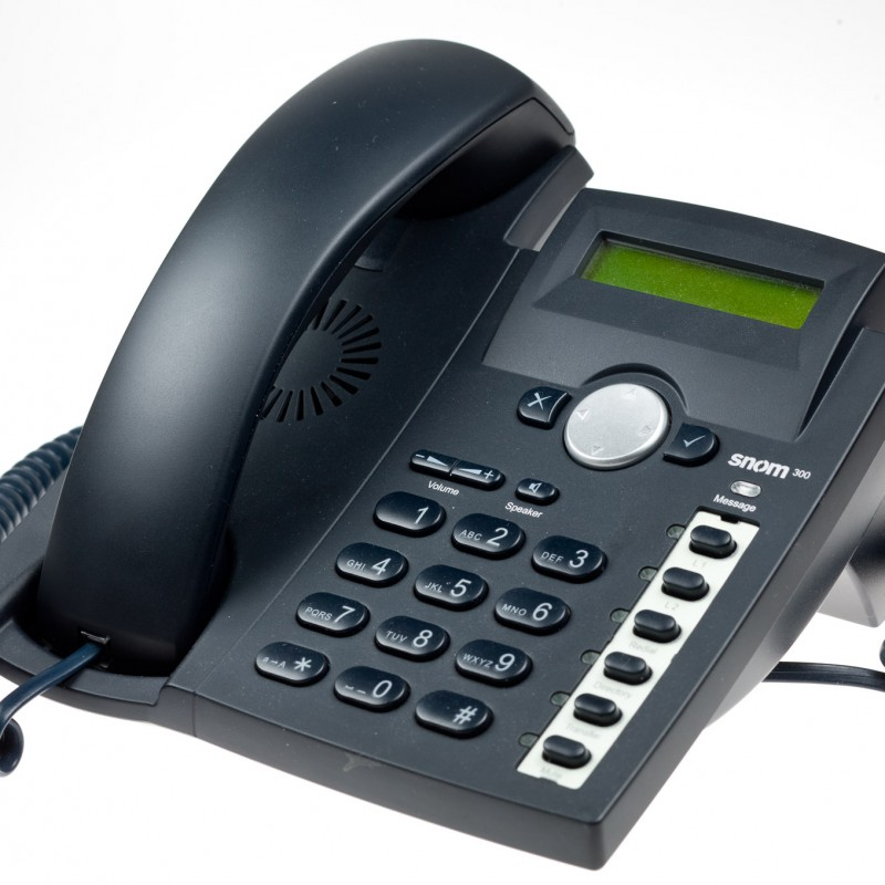 Snom telephone