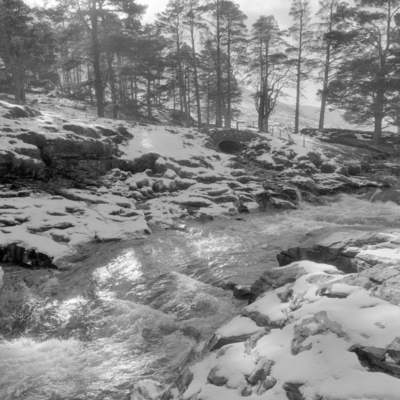Highland snow