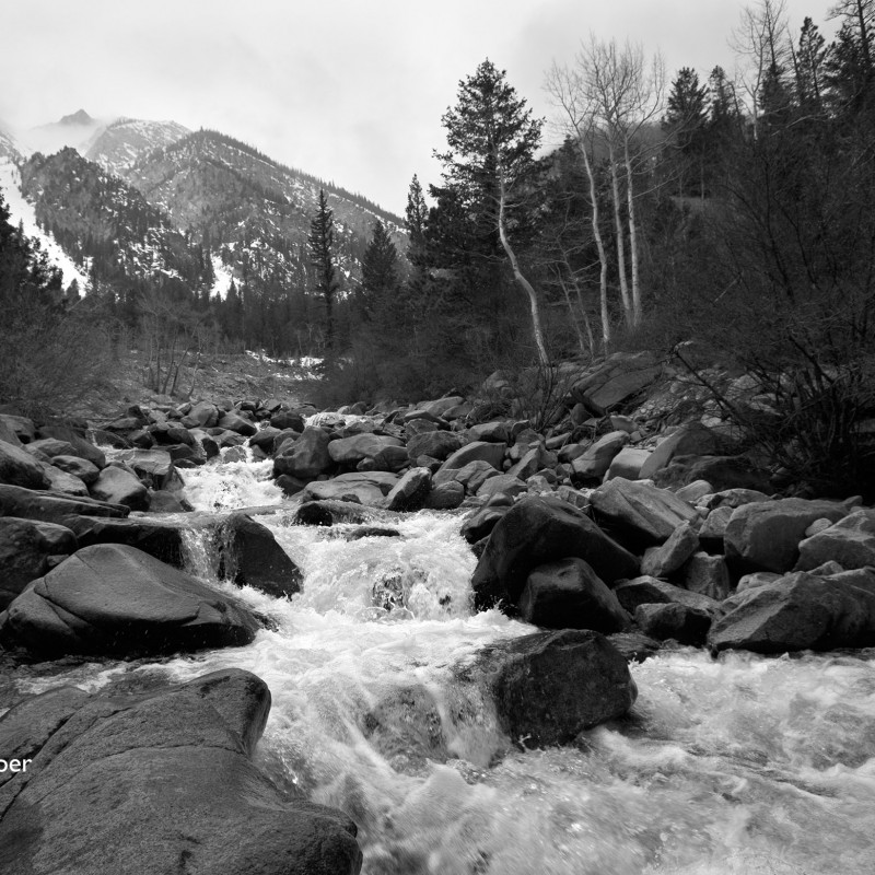 Rocky mountain stream 2