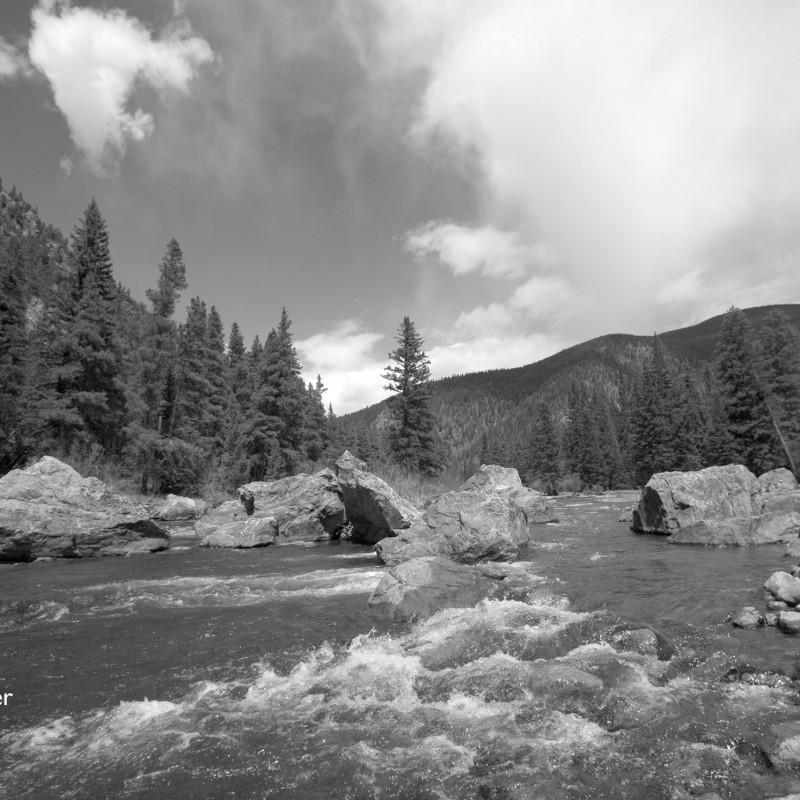 Rocky mountain stream 3