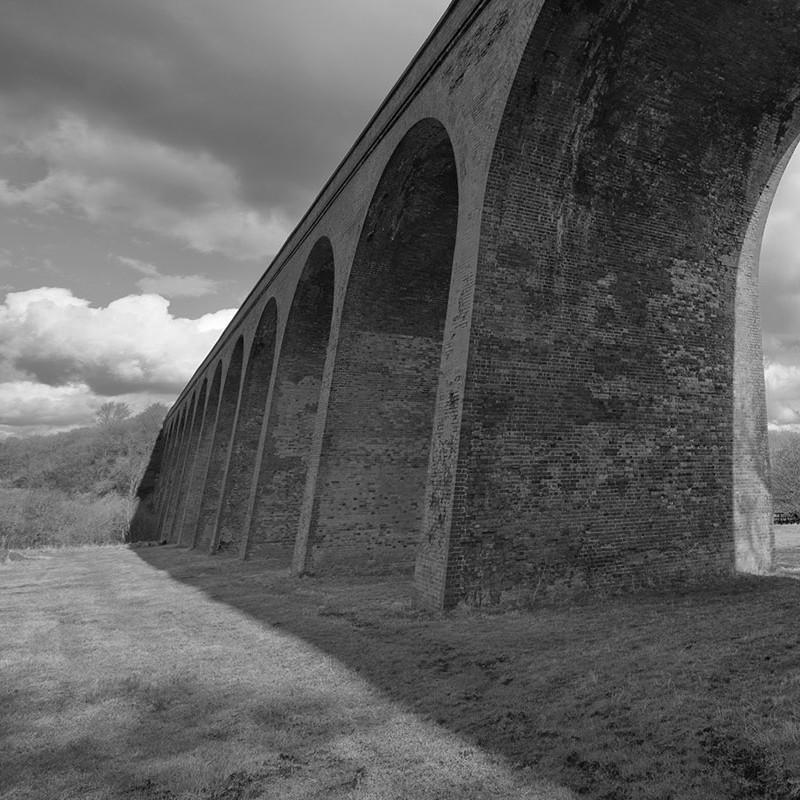 Rail viaduct, John O'Gaunt, Leicestershire
