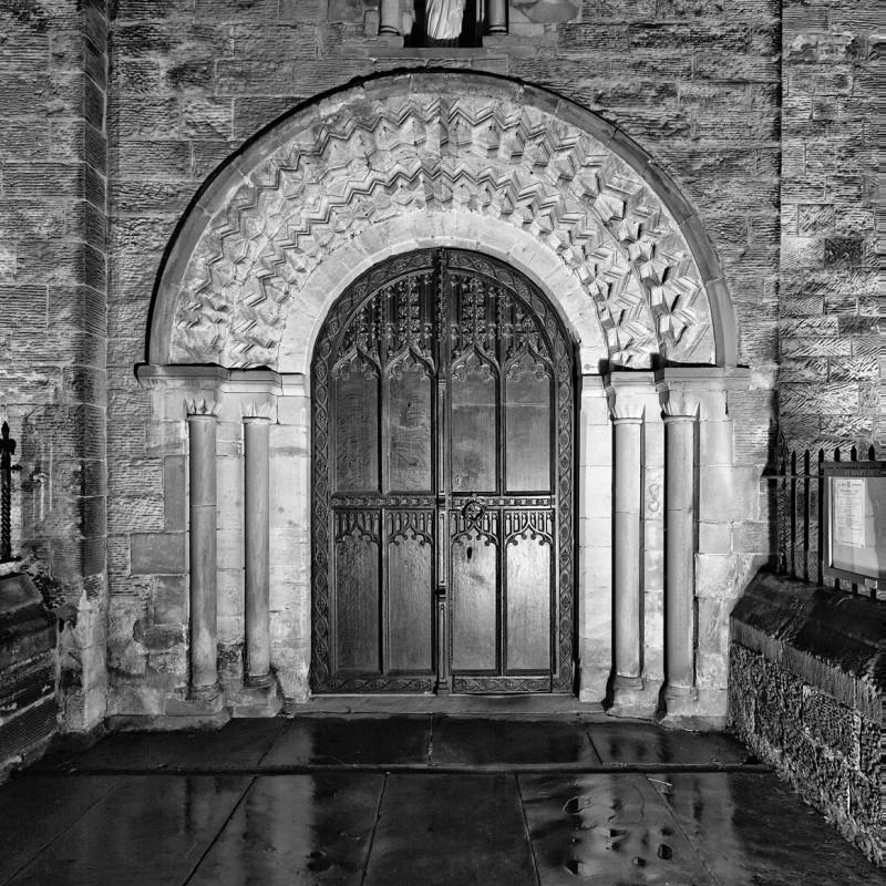 St Mary de Castro doorway