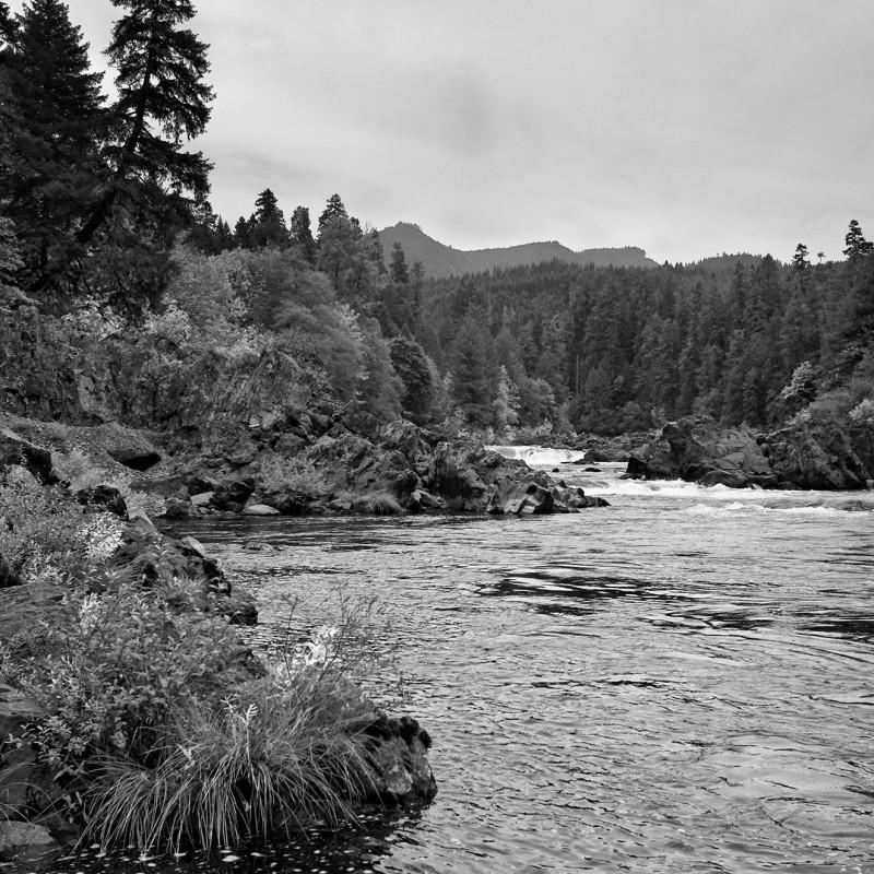 Cascades river