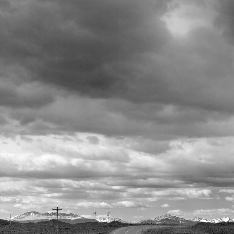 Colorado road and sky 2