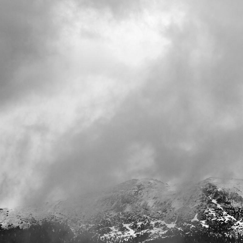 Low cloud in the Rockies