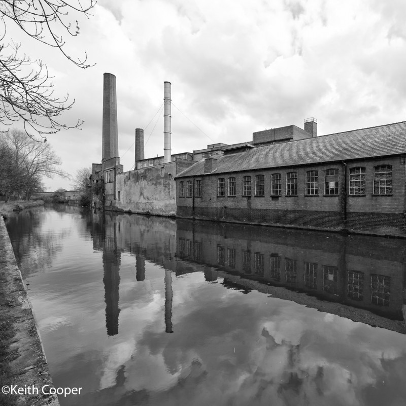 Factory beside the Canal
