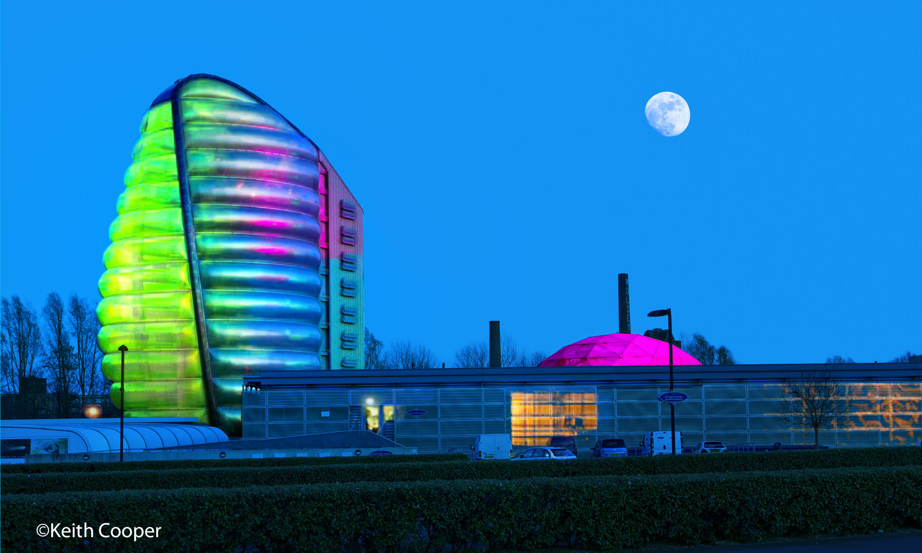 Moonrise, National Space Centre
