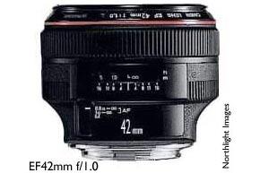 EF42 f/1.0 L