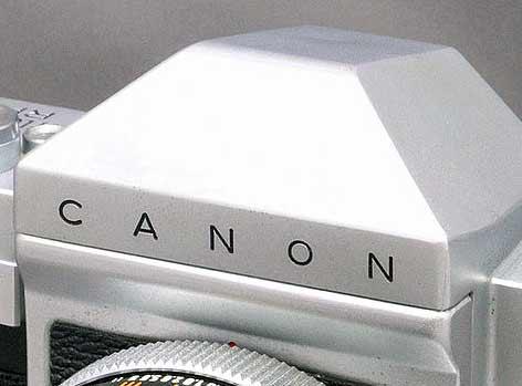 canon camera prism