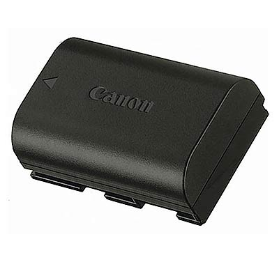 Replacement Canon camera battery guide