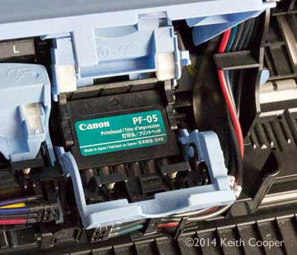Replacing Canon large format printheads - iPF8300 / PF05