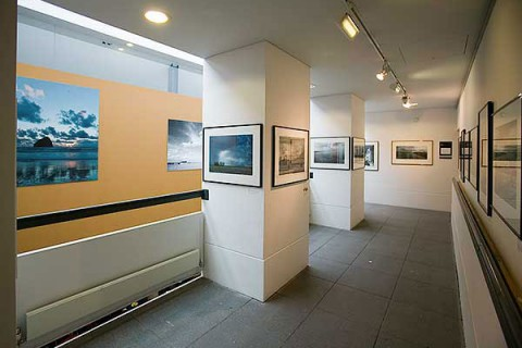 prints at a gallery