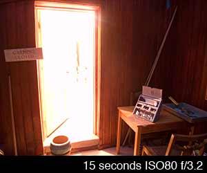 15 second exposure
