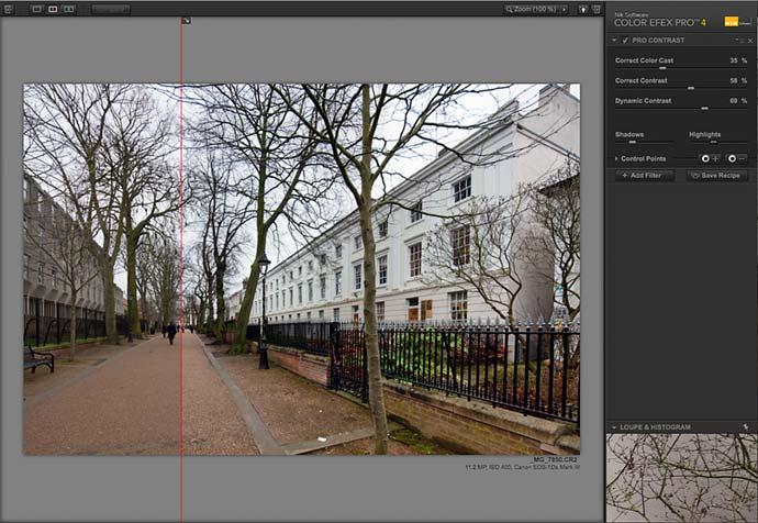 split pro contrast filter
