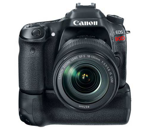 Canon eos 90D with grip