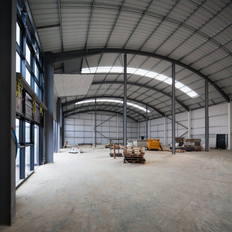 Building fitout - industrial park