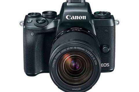 Canon EOS-M5 camera announced