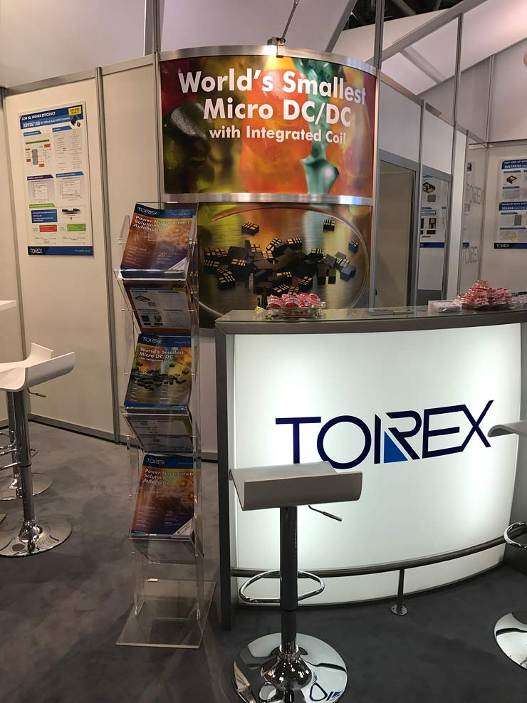 Torex semiconductor trade stand