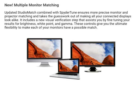 match multiple monitors