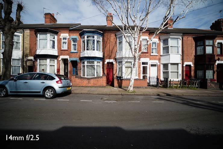 14mm street view f2.4