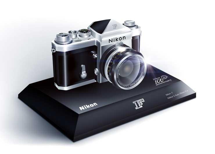 half scale Nikon F