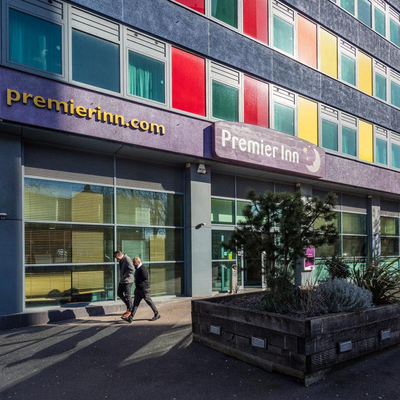 Premier Inn entrance