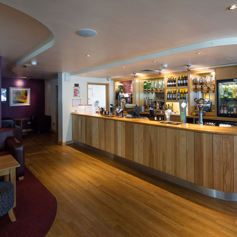 Premier Inn bar