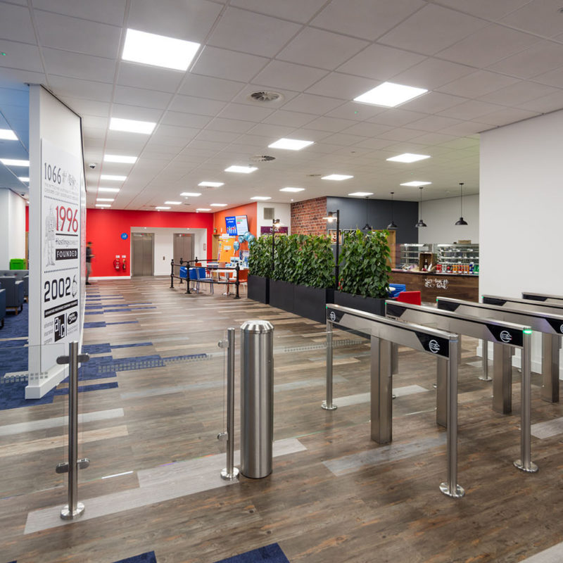 Entrance area for offices