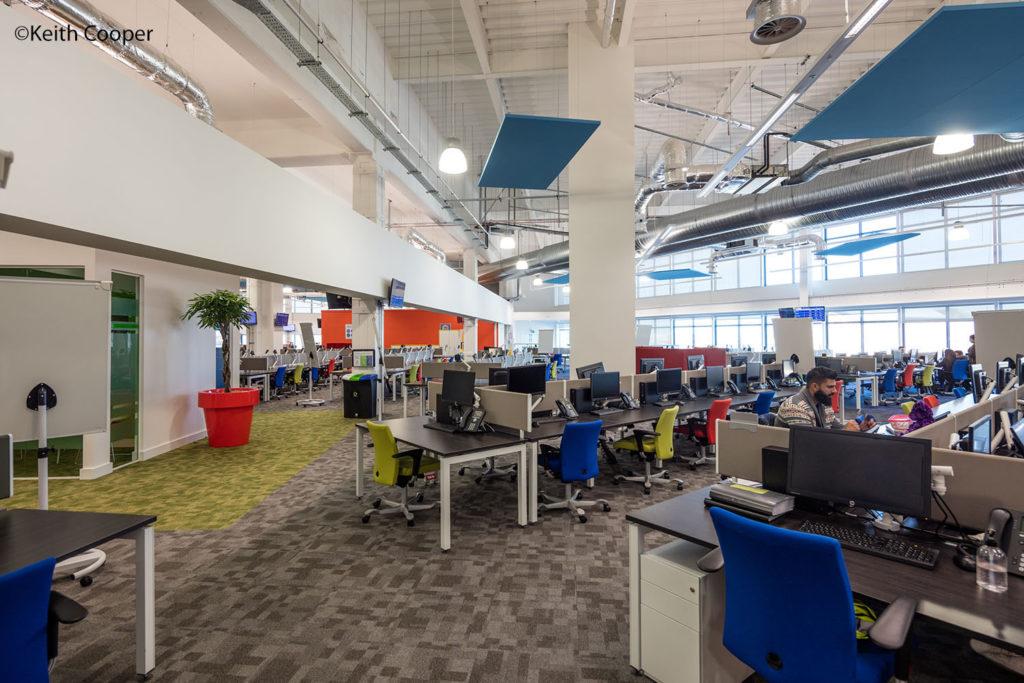 call centre interior