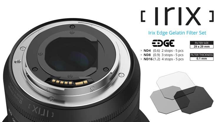 Irix ND filters