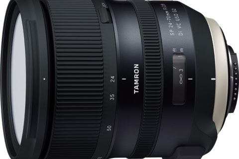 New Tamron 24-70mm F2.8 lens announced