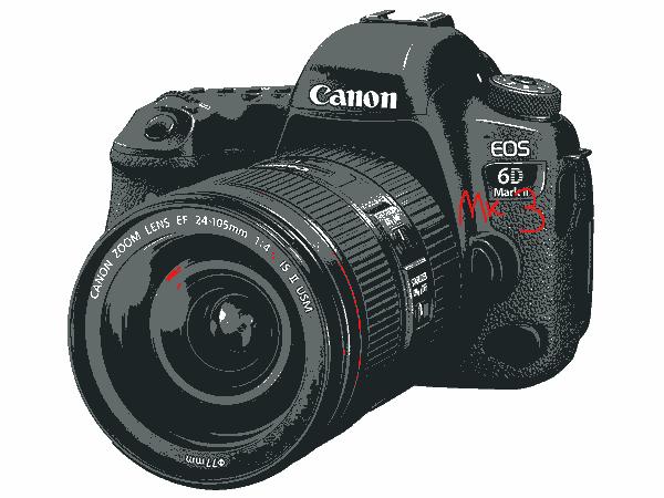 Canon EOS 6d mk 3