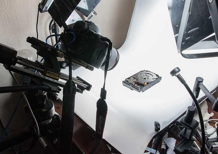 lens setup
