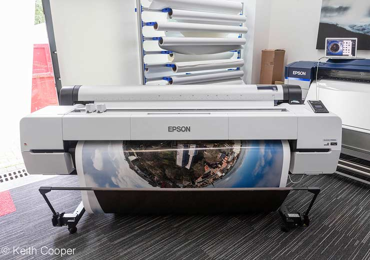 Epson SC-P20000 printer review  64 inch width large format
