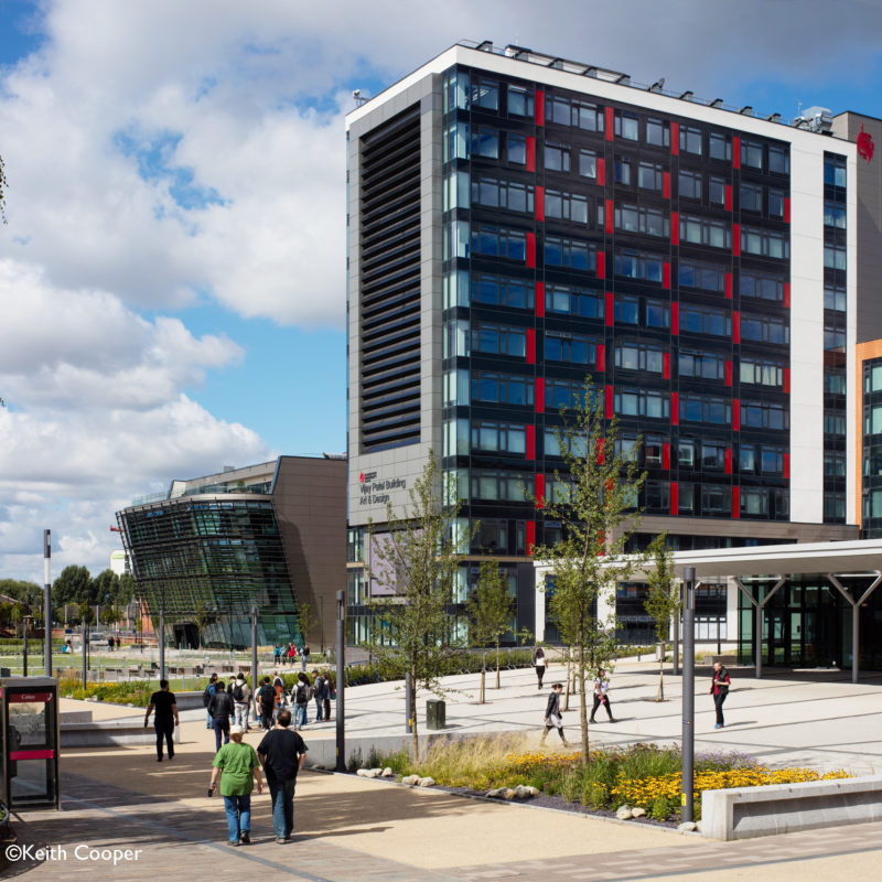 DMU Campus in Leicester