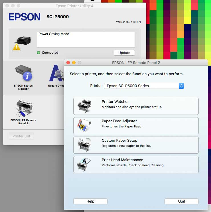 Review of the Epson P5000 printer  17 inch width A2, with