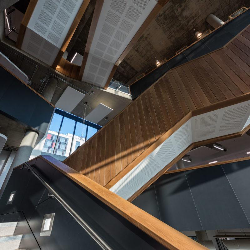 criss-cross stairways