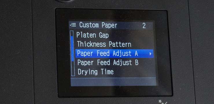 feed adjust a