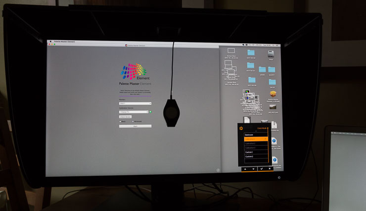 calibrate with i1Display Pro