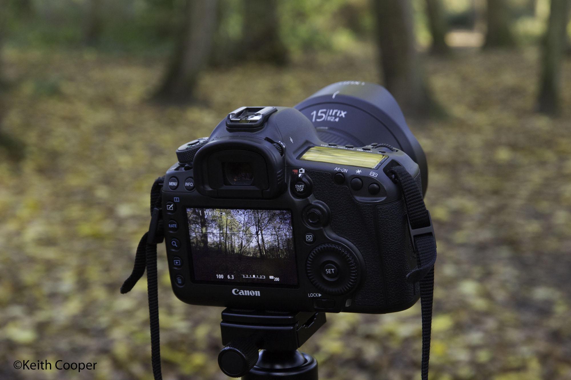 live view irix 15mm