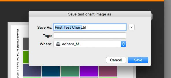 save tiff file